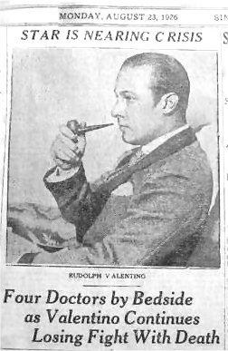 169 Rudolph Valentino Silent Movie Star Goldensilents Com